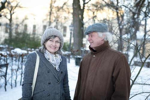 Ulf Stark & Anna Höglund. Fotograf Stefan Tell