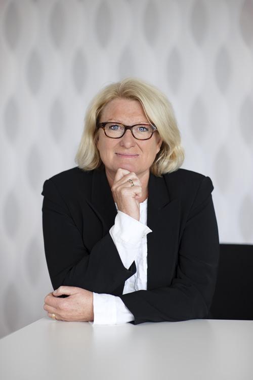 Pia Gideon, omslagsfoto till Professionellt Styrelsearbete. Fotograf Stefan Tell