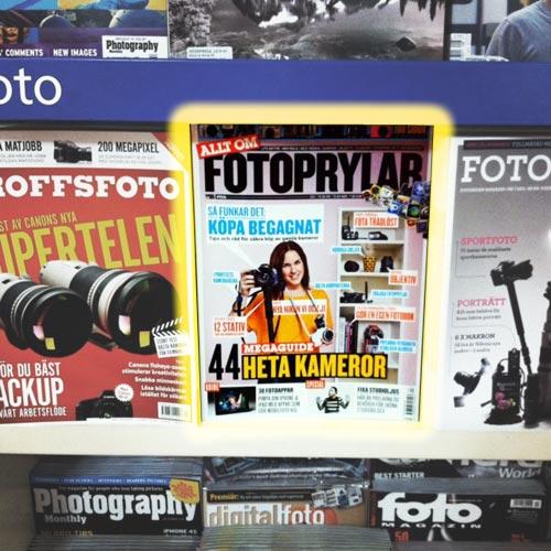 Kamera&Bild - Allt om fotoprylar. Fotograf Stefan Tell
