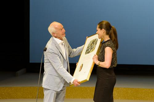 Guus-Kuijer-Kronprinsessan-Victoria-ALMA-2012. Fotograf Stefan Tell