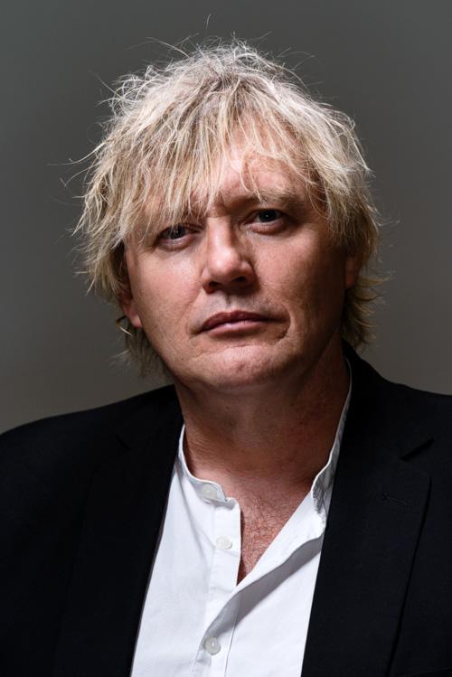 Anders Jacobsson, författarporträtt för Bonnierförlagen 2013. Fotograf Stefan Tell