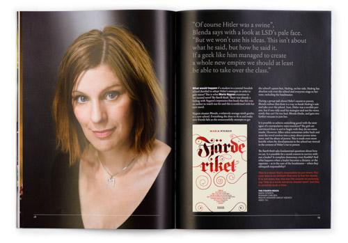 Kulturrådet, Swedish books for young readers, Maria-Nygren. Fotograf Stefan Tell
