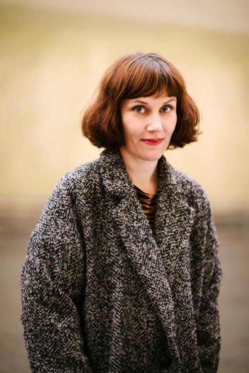 Ingrid Flygare, pressbild för Bonnier Carlsen 2014. Fotograf Stefan Tell