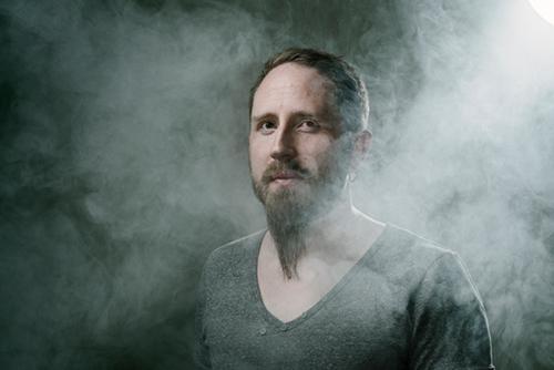 Porträtt med rökmaskin