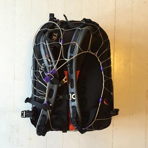 Smart stöldskydd för kameraryggsäcken