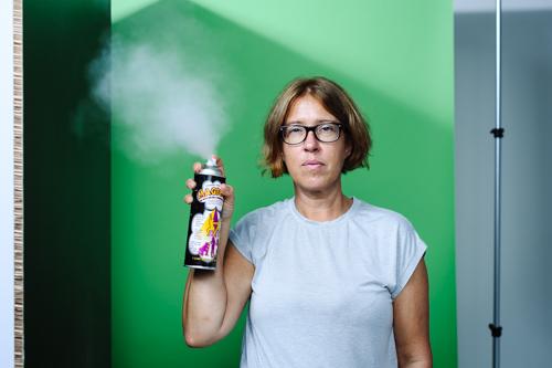1-rokspray-i-fotostudio-haze-portratt-test-magican. Fotograf Stefan Tell