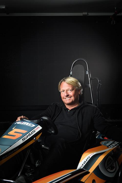 Porträtt av VD till årsredovisning. Mikael Andreasson, Exploria. Fotograf Stefan Tell