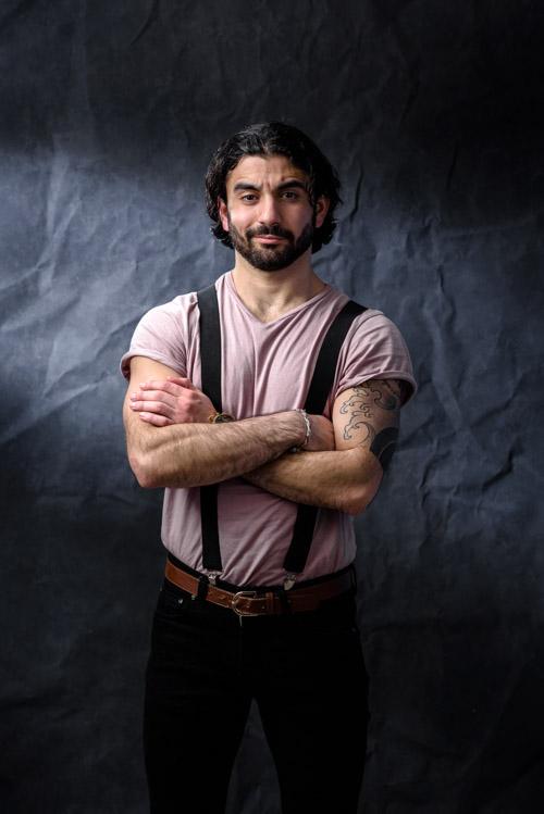 Rojan-Telo_pressbild-skådespelare-casting. Fotograf Stefan Tell