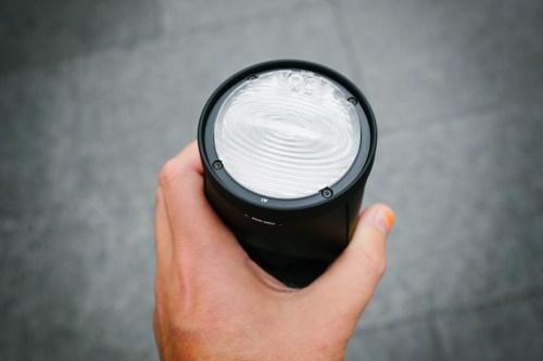 Profoto-A1-frontglas-fresnel-lins-utan-diffusion