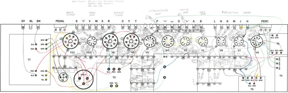 medium resolution of the completed wiring diagram drawn full size