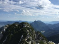 Blick am Gipfel