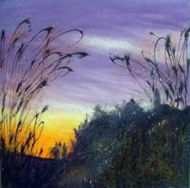 Spanish Landscape Sunset