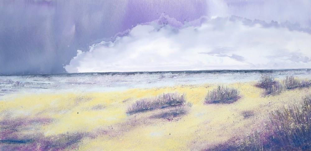 Seascapes in oil paint Curracloe Beach Ireland