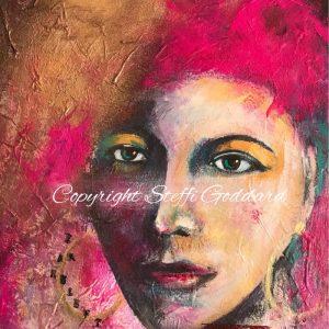 CONTEMPORARY FEMALE FACES - I AM RELENTLESS