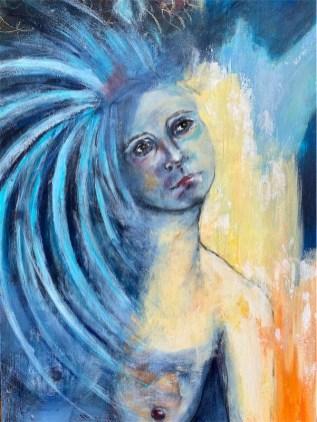 'Angel Cloud' - Original no longer available
