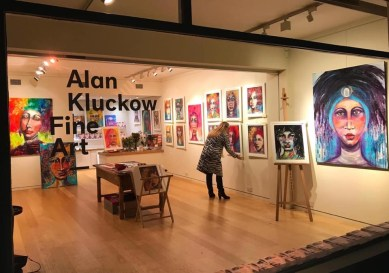 Solo Exhibition at the Alan Klucklow Gallery, UK