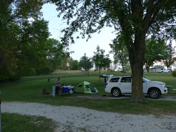 Campground - Lake Anita State Park