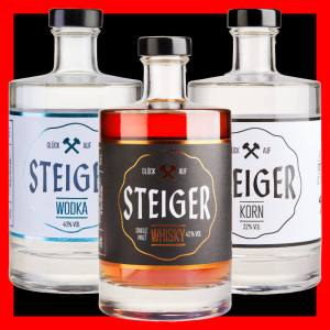 Steiger Whisky Wodka Korn