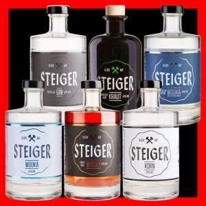 Steiger Whisky Wodka Korn Destilled Gin Kraut Wodka - Distillers Edition