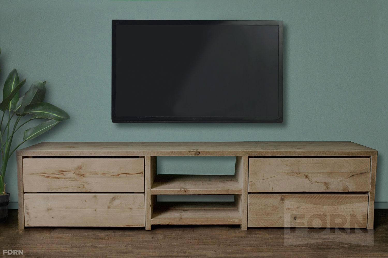 Steigerhouten TVmeubel met laden  TVkasten
