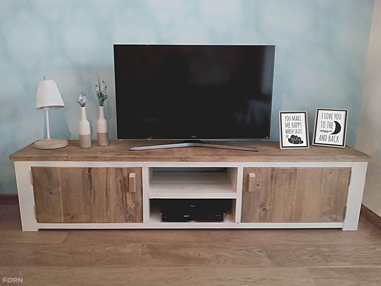 Steigerhouten TVmeubel Landelijk  TV kast van steigerhout