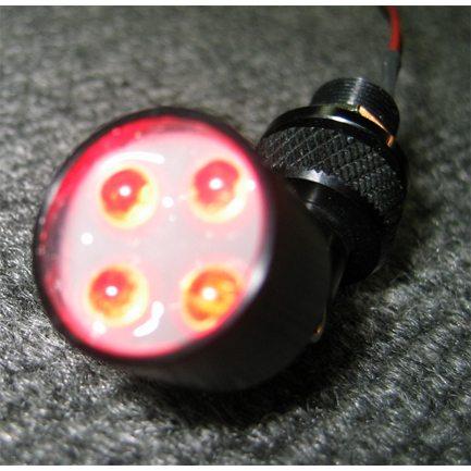 RED LED Maplight / Cockpit Light, 24V