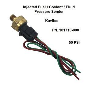 Inject Fuel Pressure Sender, Kavlico 50 PSI