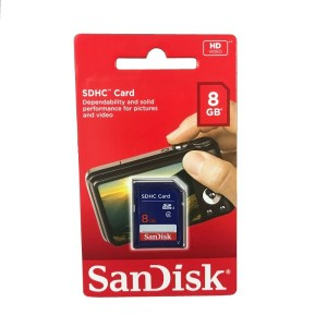SD Card - 8 GB