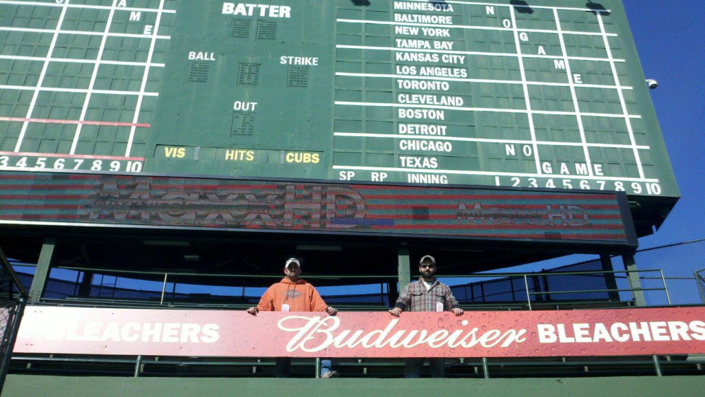 pro sports stadiums steindler signs