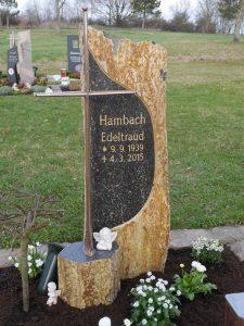 Einzelgrabmal der Steinewelt Flieden e.K.