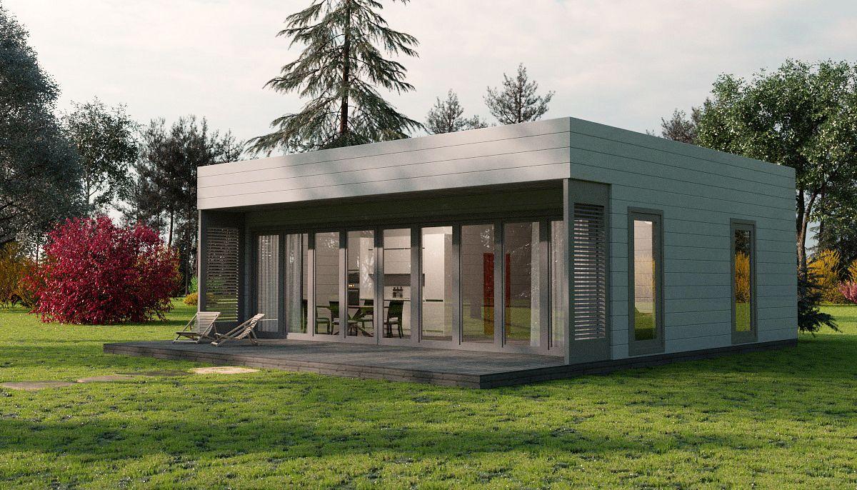 Fertighaus und Bausatzhaus 450 GREGOR  Classic kaufen