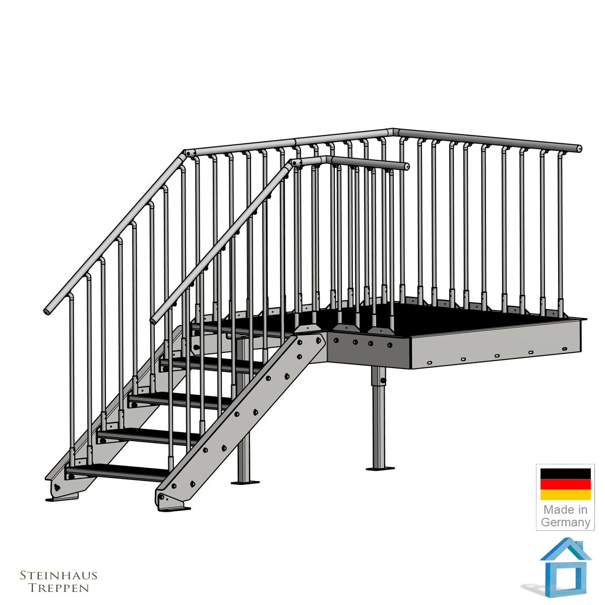 Treppen Aufbau. Freitragende Treppen Aufbau Und Allgemeine