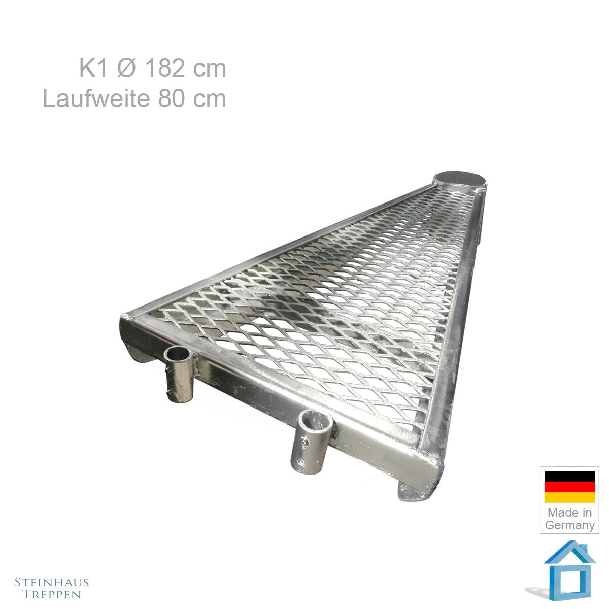 Zusatzstufe Fur Au Entreppe K1 180 Cm