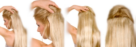 Haarverlängerungen Gisela Mayer Clip In