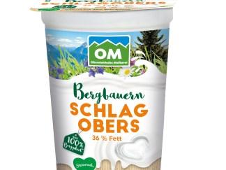Bergbauern Schlagobers