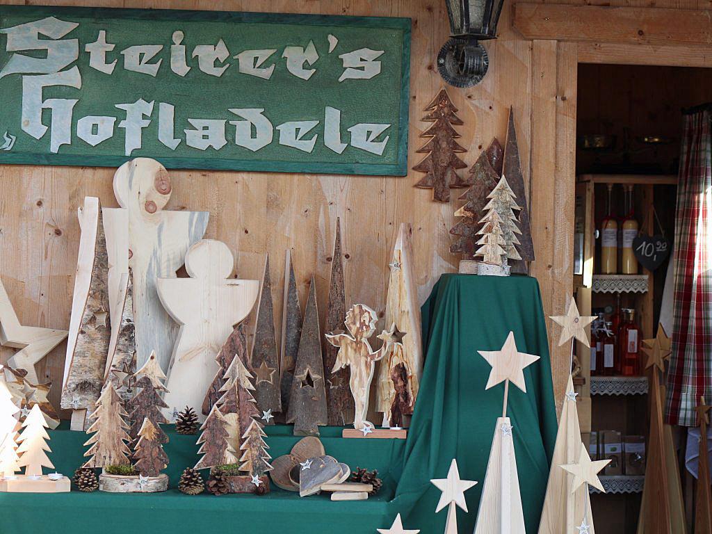 Advent-Hofladele am Steiererhof, Foto: Steirerhof Mieming