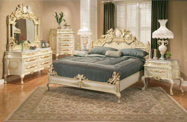 Dormitor in stil Victorian - mobila antica