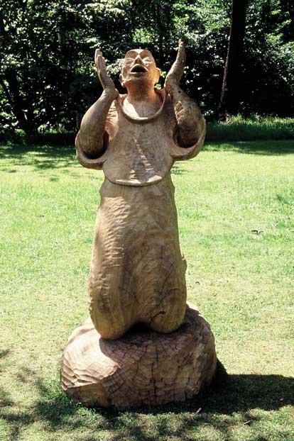 Statuia Intelegerii - Lemn Masiv Stejar - Minunea din lemn