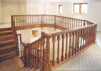 Partea terminală de la etaj pentru modelul de scari Chalfont
