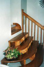 Trepte diferenta de nivel scari interioare de lemn