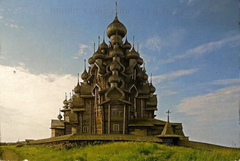 Biserica din lemn din Oreaokastro - Rusia Eterna