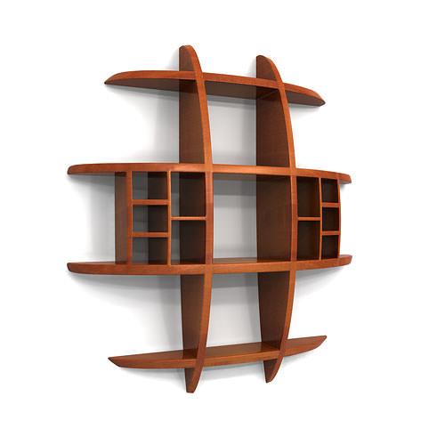 Idee ingenioasa pentru raft de perete cu design semicircular - Victor Klassen