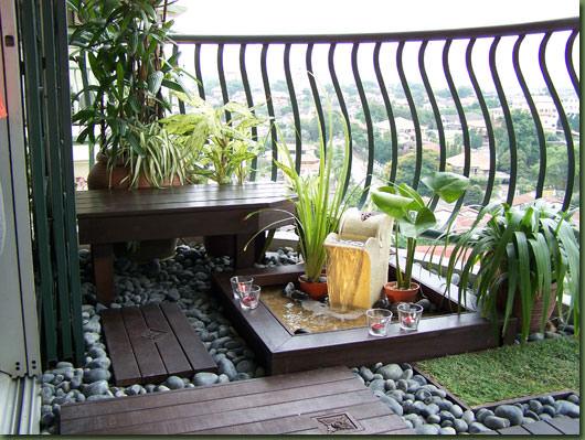 Mini Gradina de balcon