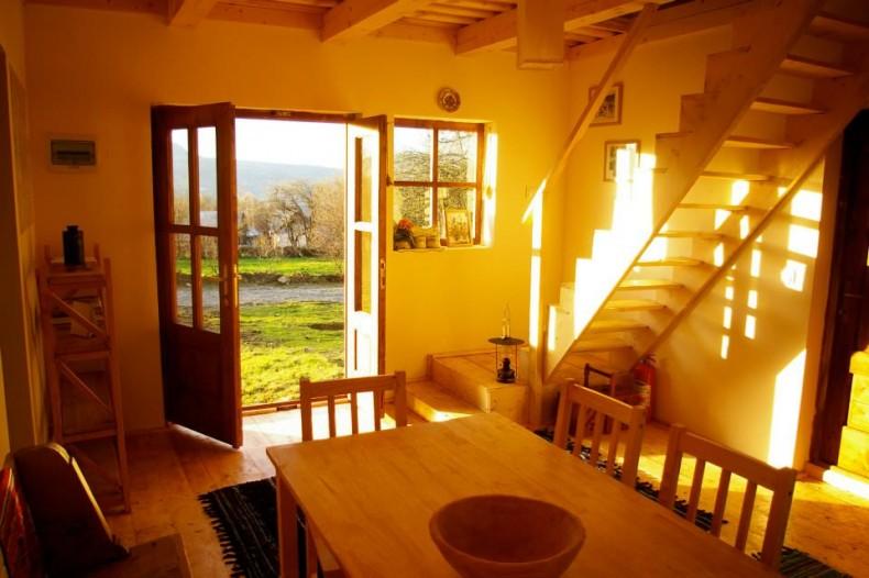 Amenajare interioara cu lemn - Pensiunea Babou