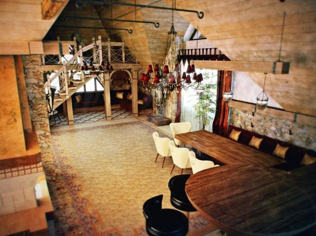 decor interior medieval