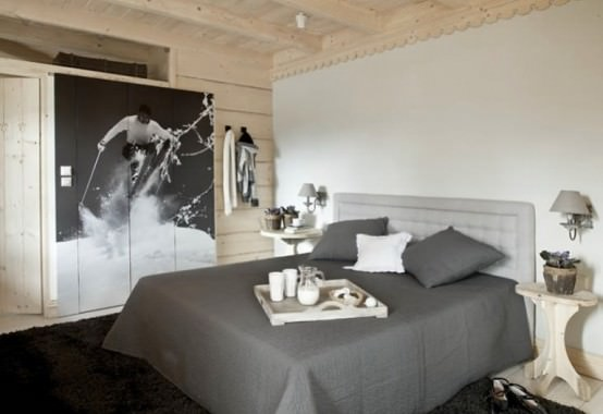 dormitor lemn masiv
