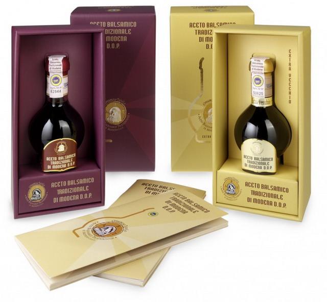 Sticlute de Aceto Balsamico Tradizionale di Modena