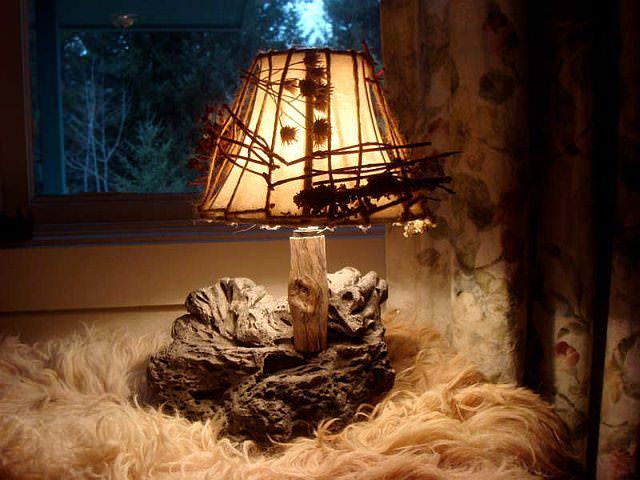 lampa rustica
