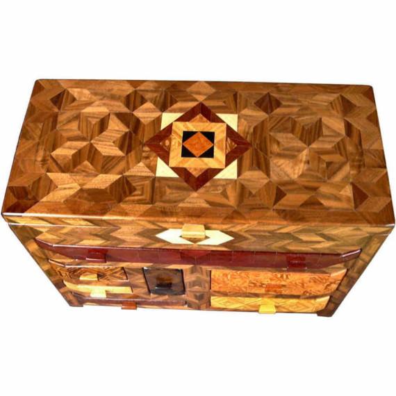 caseta de lemn