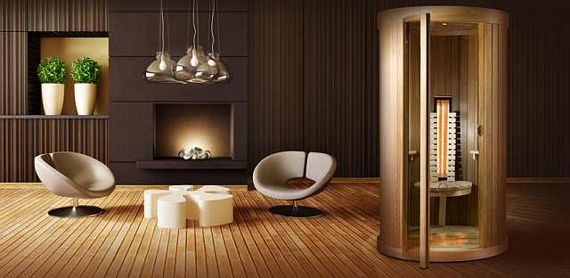 sauna lemn